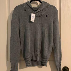 Ralph Lauren fawn grey sweater